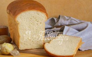 Картофельный хлеб — состав и свойства