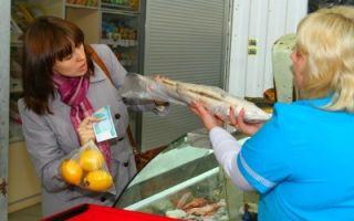 Как вернуть продукты питания в магазин — правила возврата