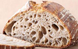 Бездрожжевой хлеб польза и вред, состав