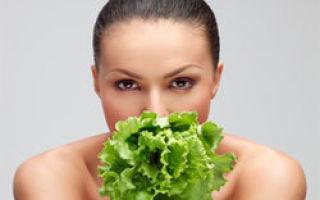 Салат листовой: полезные свойства и калорийность