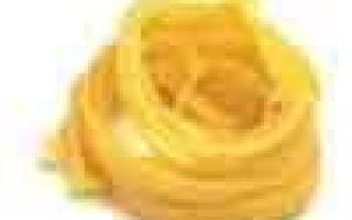 Вермишель: фото, описание и состав