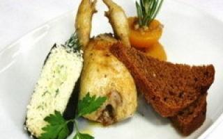 Мясо рябчика: состав и калорийность, жирность рябчика