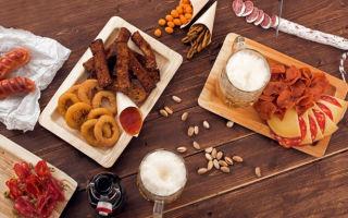 Немецкие закуски к пиву – что чаще всего заказывают к пенному в германии