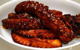 Осьминог: состав, калорийность, белки, жиры, полезные свойства мяса