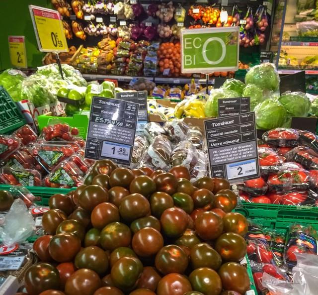 Цены на еду в Испании в супермаркетах, кафе и ресторанах