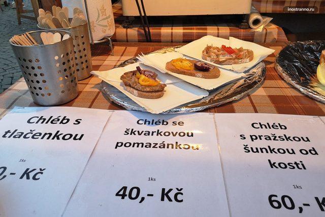Уличная еда в Чехии – пражская ветчина и другой популярный в стране фастфуд