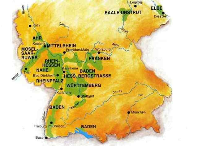 Вина Германии – интересные факты и особенности, популярные немецкие марки