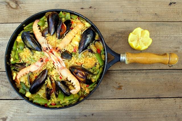 Испанская паэлья – самое важное об одном из главных блюд национальной кухни