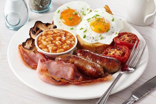 Классический английский завтрак: состав, история, интересные факты