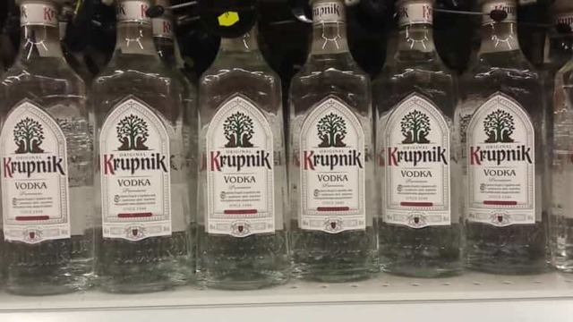 Национальные алкогольные напитки в Польше