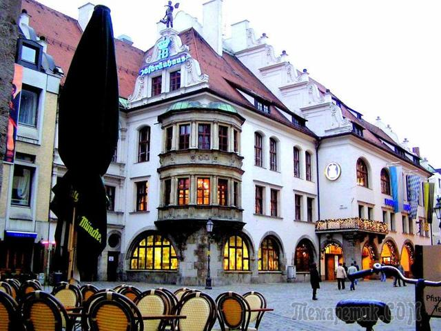 Хофбройхаус – пивная в Мюнхене, где можно попробовать лучшее немецкое пиво