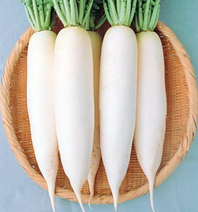 Дайкон: фото и описание овоща, состав, калорийность, полезные свойства и вред