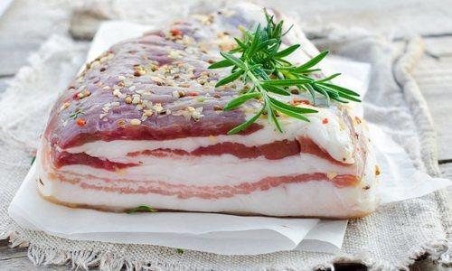 Сало свиное польза и вред для организма, сколько калорий