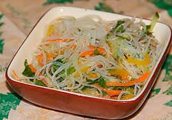 Виды японской лапши, их состав и калорийность
