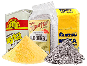 Кукурузная мука: фото и описание, состав