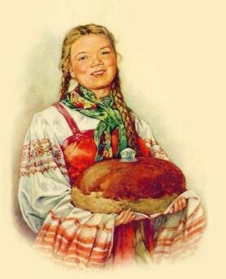 Каравай хлеба: состав и история появления
