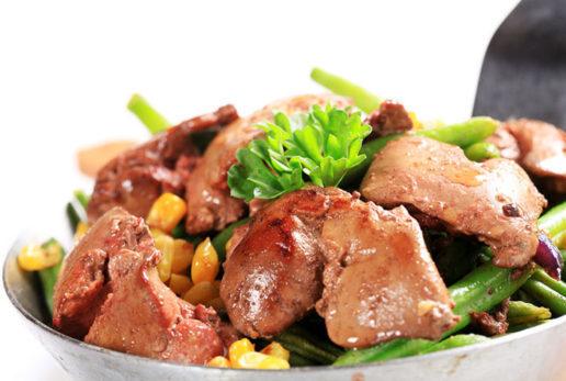 Куриная печень: состав и полезные свойства