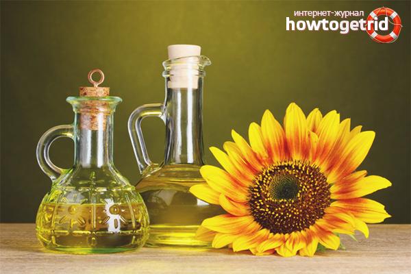Подсолнечное масло: состав, полезные свойства, польза и вред для организма человека