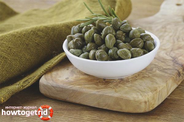Каперсы: фото и описание овоща, состав, калорийность, полезные свойства и вред