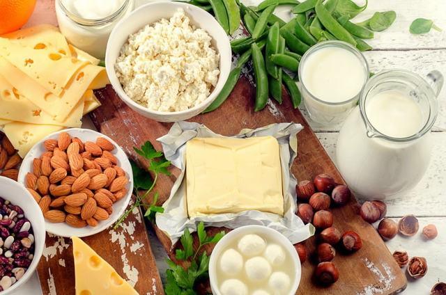 Кальций в продуктах питания, список продуктов богатых кальцием