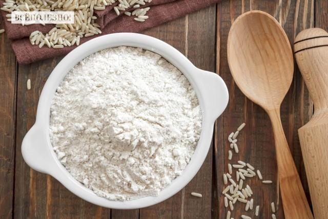 Рисовая мука: польза и вред, состав и калорийность